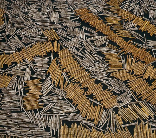 Lumber yard in Port-Gentil, Ogooué-Maritime Province, Gabon