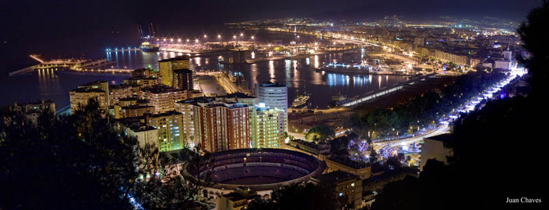 malaga spain skyline aerial 25 Stunning Skylines Around the World