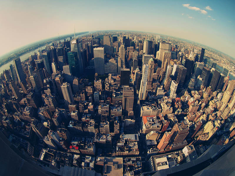 new york city skyline 25 Stunning Skylines Around the World