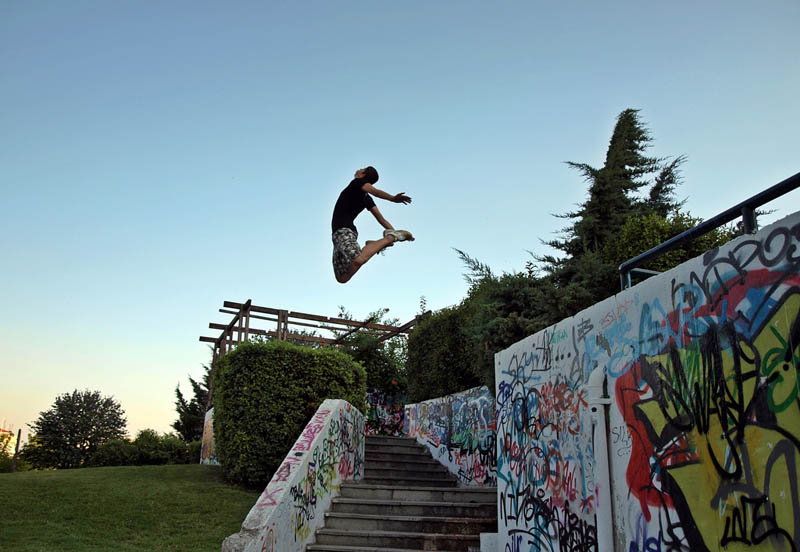 parkour pk freerunning traceurs 1 25 Incredible Parkour Photographs