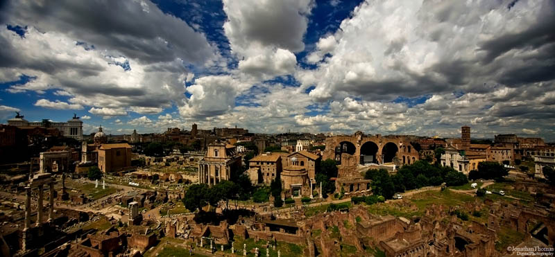 rome italy skyline aerial 25 Stunning Skylines Around the World