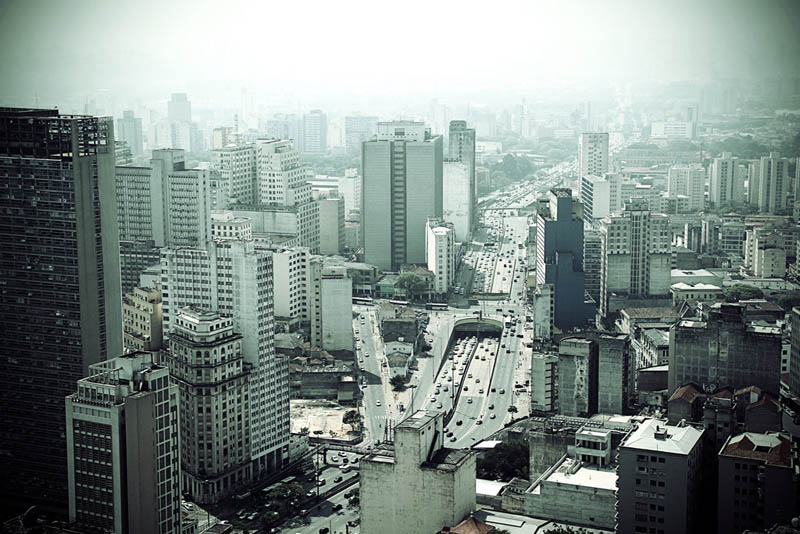 sao paulo brazil skyline aerial 25 Stunning Skylines Around the World