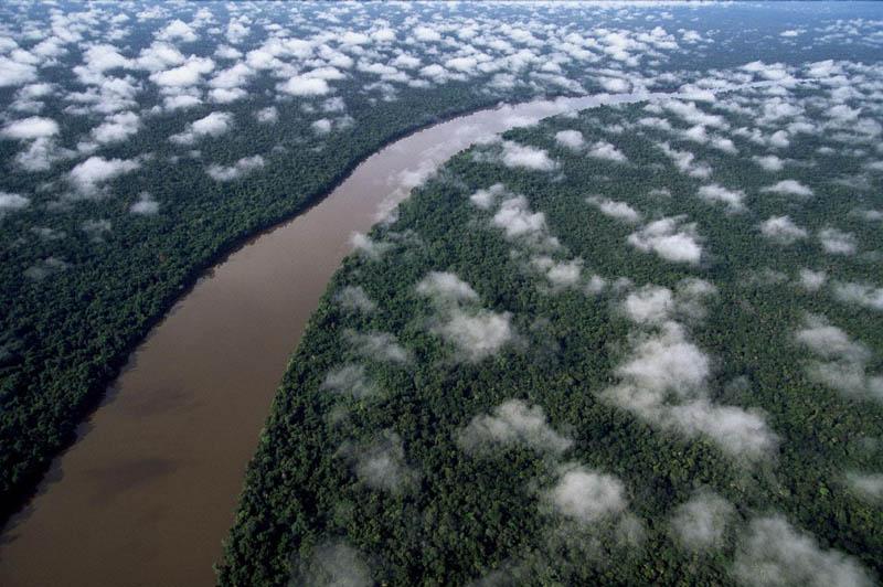 the orinoco river near the esmeralda amazon rain forest amazonas region venezuela 25 Mind Blowing Aerial Photographs Around the World
