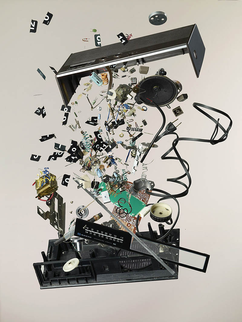the awesome deconstruction art of todd mclellan twistedsifter. Black Bedroom Furniture Sets. Home Design Ideas