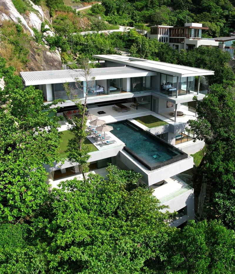 Villa amanzi in phuket thailand twistedsifter - Maison de millionnaire ...