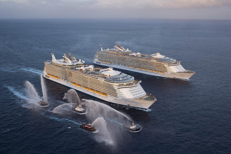 Photo Of The World S  Biggest Ships Travel Weekly