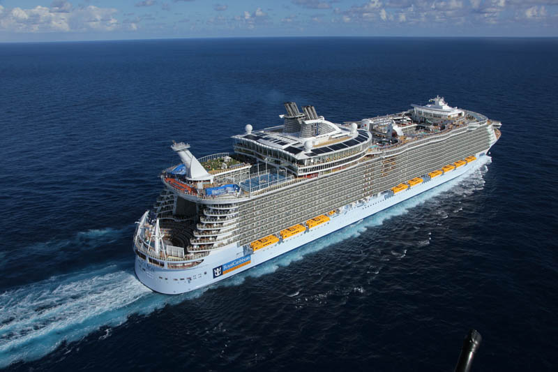 The Worlds Largest Cruise Ship Allure Of The Seas TwistedSifter - Biggest cruise ships in history