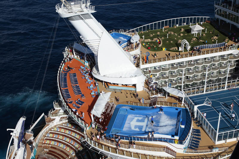 The Worlds Largest Cruise Ship Allure Of The Seas TwistedSifter - Largest cruise ship in the world