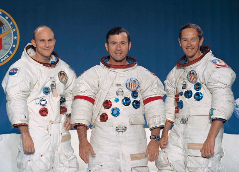 apollo 16 crew This Day In History   April 20th