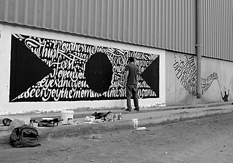 calligraffiti greg papagrigoriou street art calligraphy 17 Calligraffiti by Greg Papagrigoriou [25 pics]