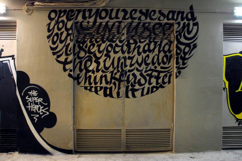 calligraffiti greg papagrigoriou street art calligraphy 19 Calligraffiti by Greg Papagrigoriou [25 pics]