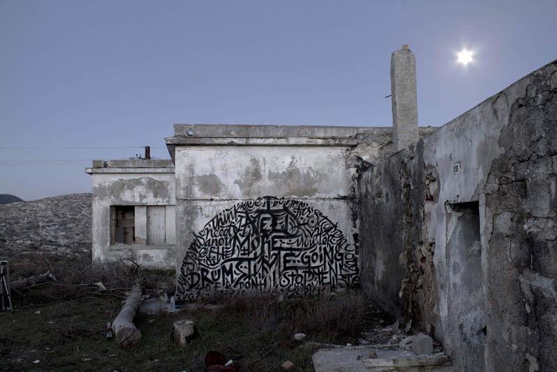 calligraffiti greg papagrigoriou street art calligraphy 22 Calligraffiti by Greg Papagrigoriou [25 pics]