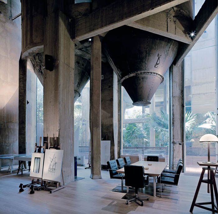 cement factory conversion ricardo bofill barcelona spain 25 Incredible Cement Factory Conversion in Barcelona [30 pics]
