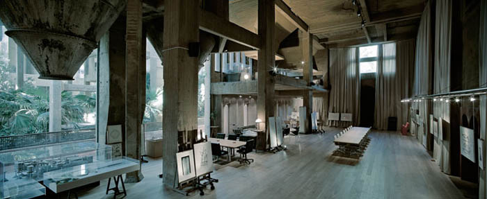cement factory conversion ricardo bofill barcelona spain 27 Incredible Cement Factory Conversion in Barcelona [30 pics]