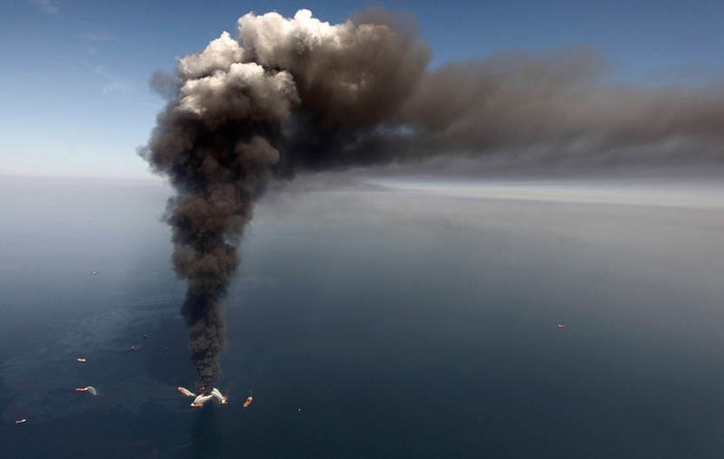 deepwater horizon oil rig gulf of mexico oil spill This Day In History   April 20th