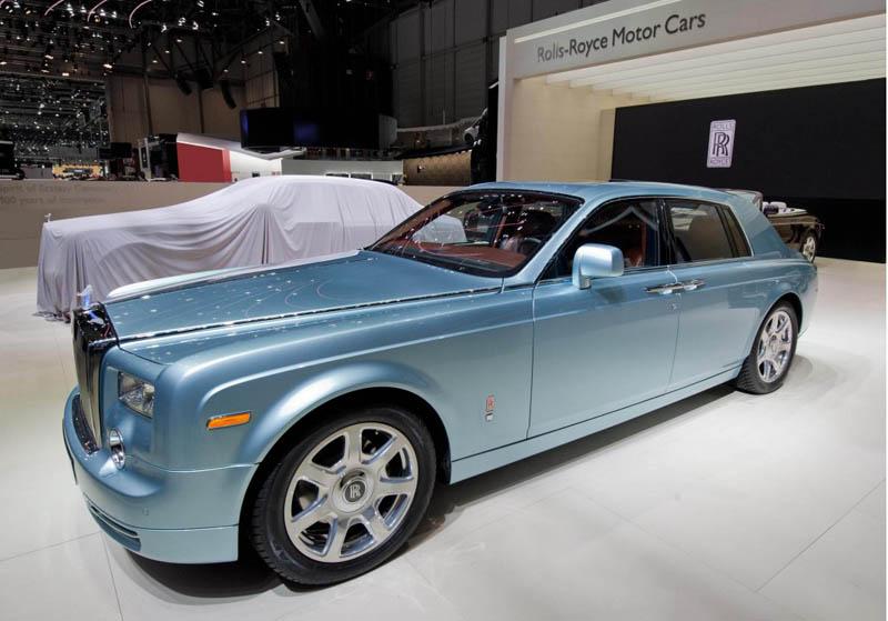 Electric Luxury: Rolls Royce Phantom EE [30pics]