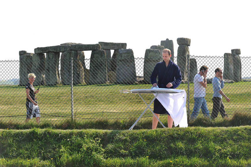extreme ironing at stonehenge The Friday Shirk Report   Volume 107