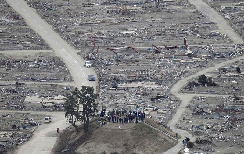 hiyori yama weather hill natori miyagi japan earthquake moment of silence Picture of the Day: A Moment of Silence
