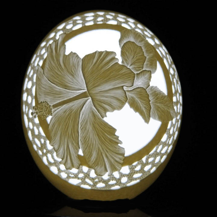 intricate egg art carvings brian baity 18 Intricate Egg Art by Brian Baity [30 pics]