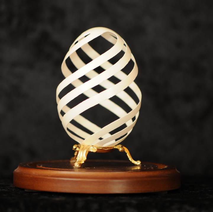 intricate egg art carvings brian baity 5 Intricate Egg Art by Brian Baity [30 pics]