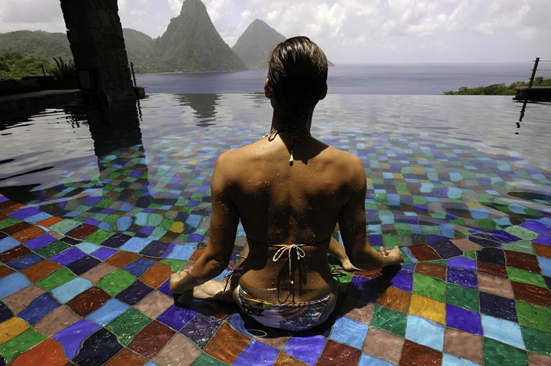 jade mountain st lucia infinity pool every room 11 Jade Mountain: Where All Rooms Have Infinity Pools