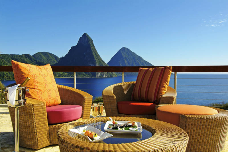 jade mountain st lucia infinity pool every room 13 Jade Mountain: Where All Rooms Have Infinity Pools