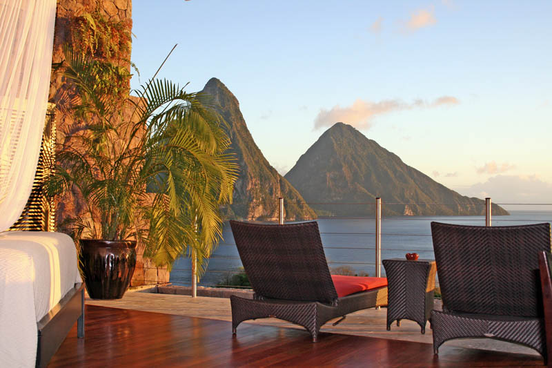 jade mountain st lucia infinity pool every room 14 Jade Mountain: Where All Rooms Have Infinity Pools