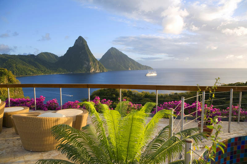 jade mountain st lucia infinity pool every room 15 Jade Mountain: Where All Rooms Have Infinity Pools