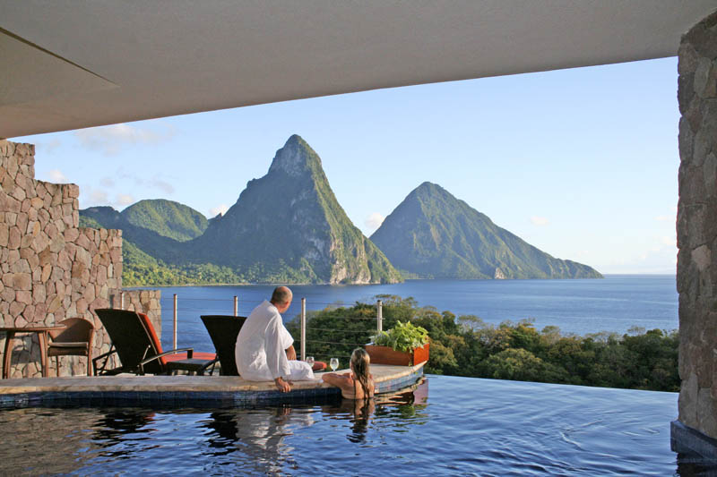 Jade Mountain Where All Rooms Have Infinity Pools TwistedSifter - Rooms with pools