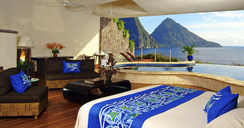 jade mountain st lucia infinity pool every room 19 Jade Mountain: Where All Rooms Have Infinity Pools