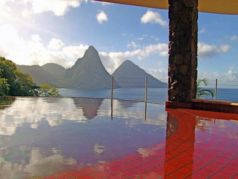 jade mountain st lucia infinity pool every room 20 Jade Mountain: Where All Rooms Have Infinity Pools