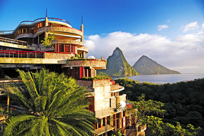 jade mountain st lucia infinity pool every room 3 Jade Mountain: Where All Rooms Have Infinity Pools