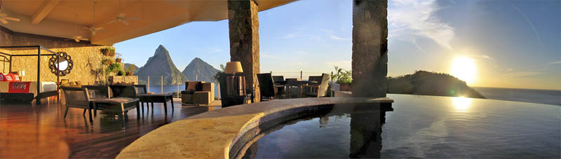 jade mountain st lucia infinity pool every room 30 Jade Mountain: Where All Rooms Have Infinity Pools