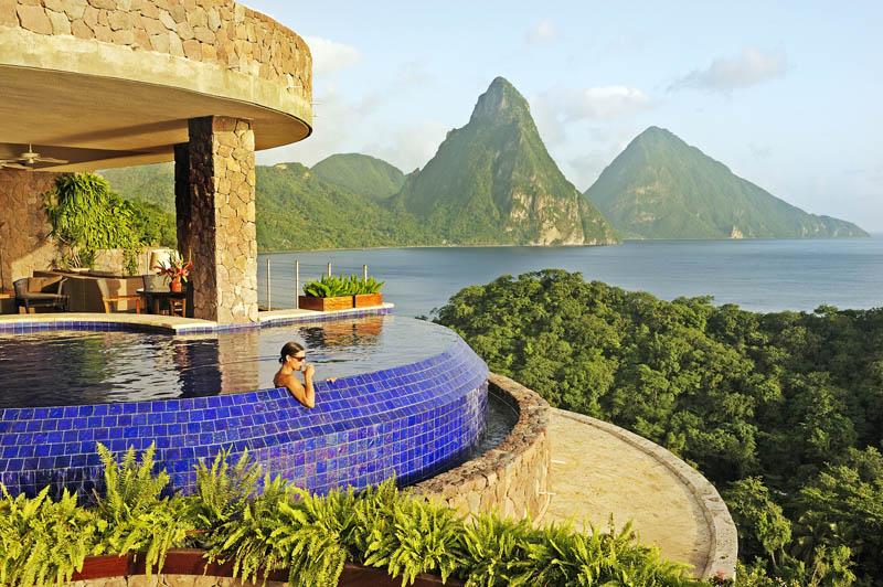 jade mountain st lucia infinity pool every room 4 Jade Mountain: Where All Rooms Have Infinity Pools