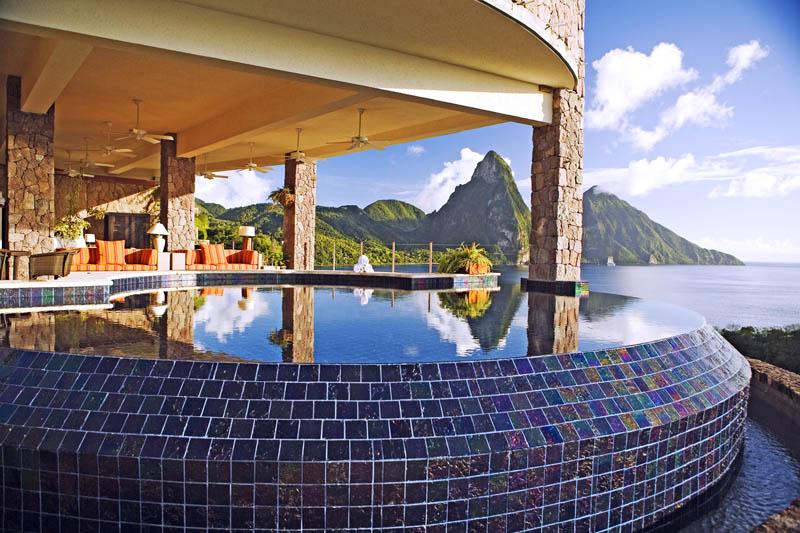 jade mountain st lucia infinity pool every room 6 Jade Mountain: Where All Rooms Have Infinity Pools