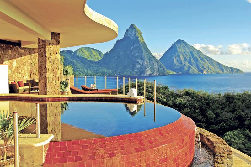 jade mountain st lucia infinity pool every room 7 Jade Mountain: Where All Rooms Have Infinity Pools