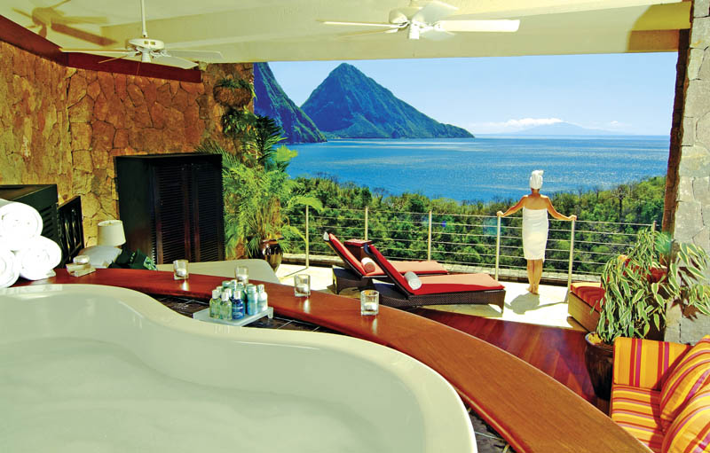 jade mountain st lucia infinity pool every room 8 Jade Mountain: Where All Rooms Have Infinity Pools