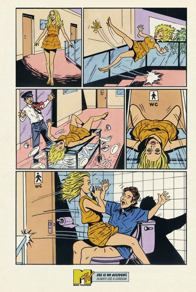 Sex cimic strip