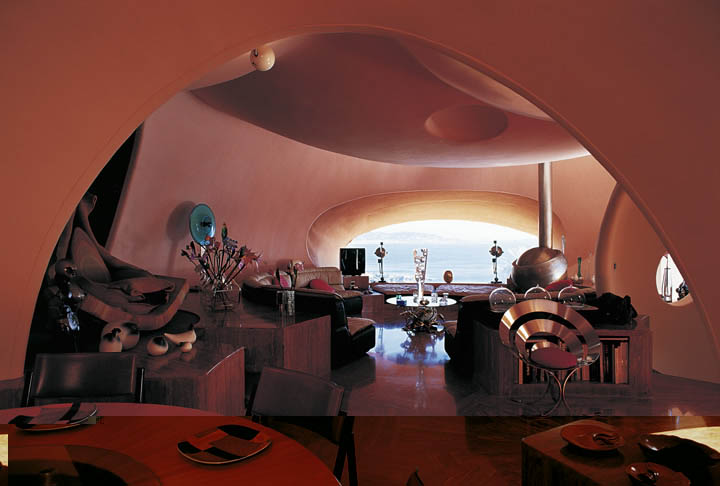 palais bulles palace of bubbles pierre cardin house antti lovag cannes 30 Pierre Cardins Bubble House Palais Bulles by Antti Lovag