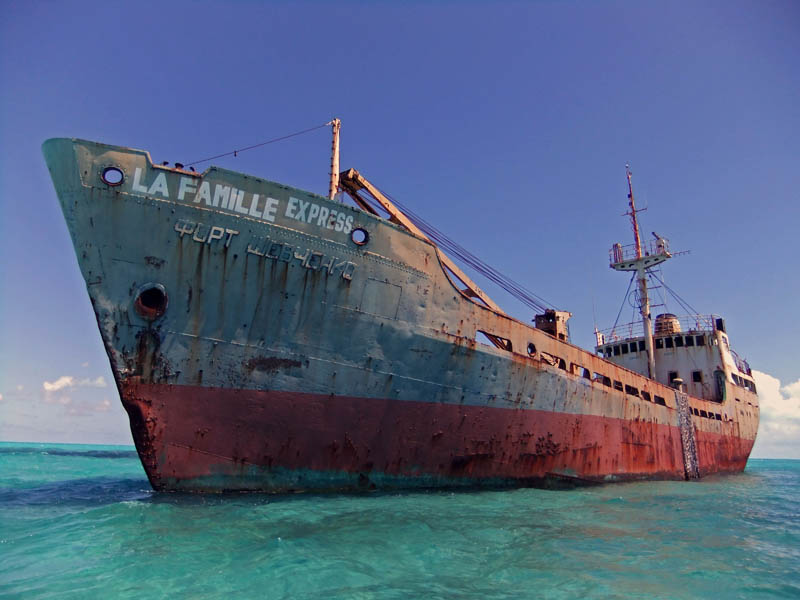 shipwreck turcs and caicos 25 Haunting Shipwrecks Around the World