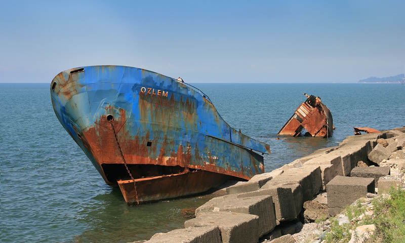 shipwreck batumi georgia r bartz 25 Haunting Shipwrecks Around the World
