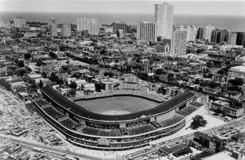 wrigley field chicago cubs stadium This Day In History   April 20th