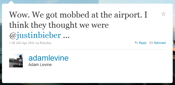 adam levine humblebrag The 50 Funniest Humble Brags on Twitter