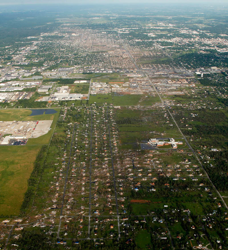 Picture of the Day: Tornado's Destructive Path Through Joplin FromAbove