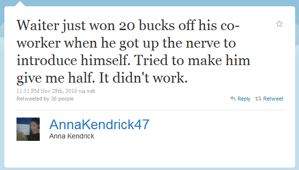 ana kendrick humblebrag The 50 Funniest Humble Brags on Twitter