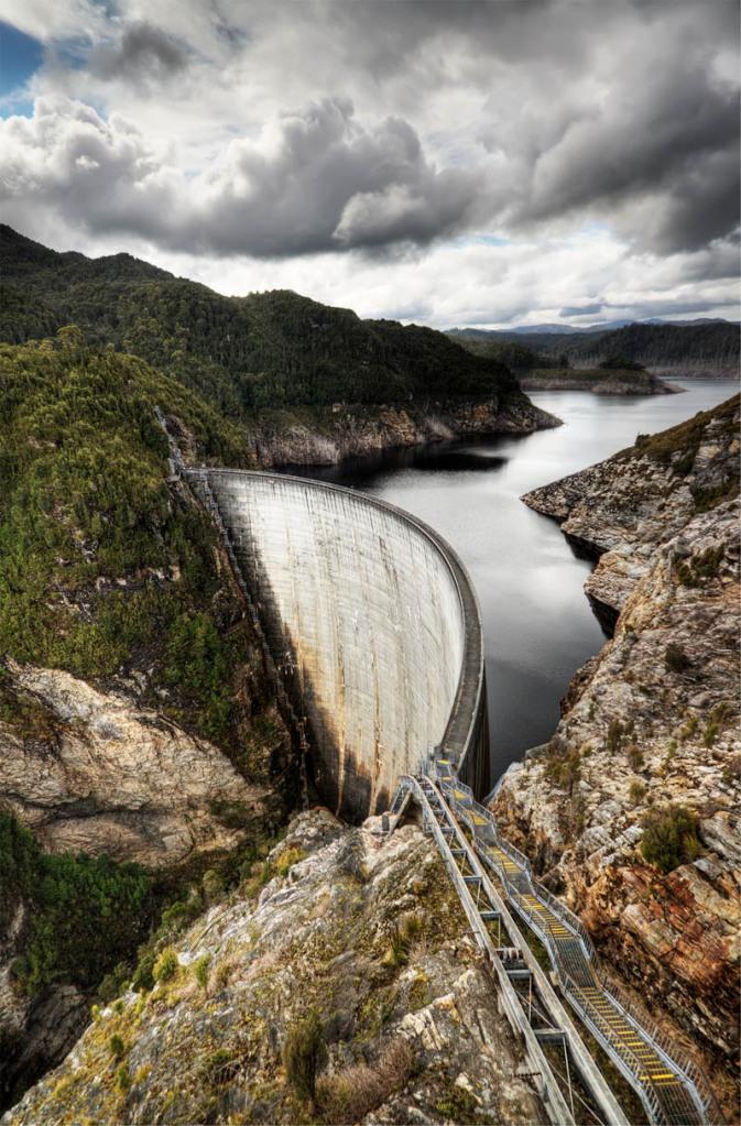 Picture of the Day: The Gordon Dam,Australia