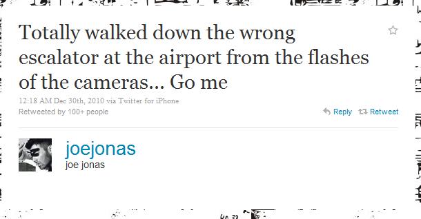 joe jonas humblebrag The 50 Funniest Humble Brags on Twitter