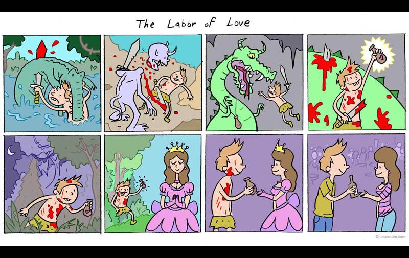 The Labor of Love [ComicStrip]
