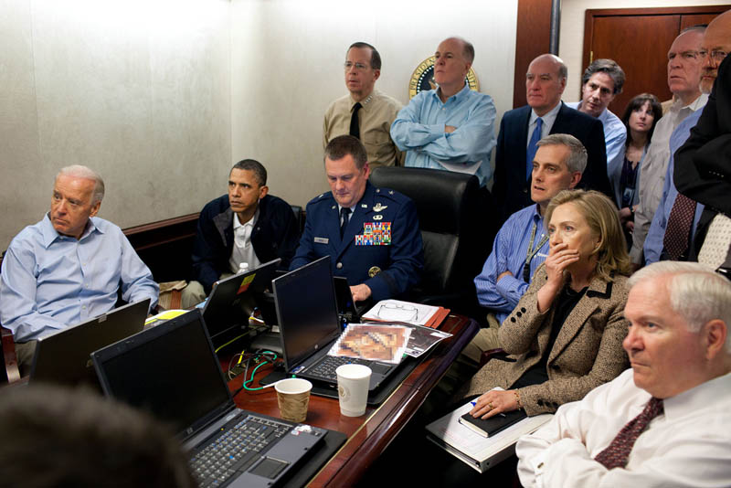 obama biden and national security team watching capture of osama bin laden The Top 50 Pictures of the Day for 2011