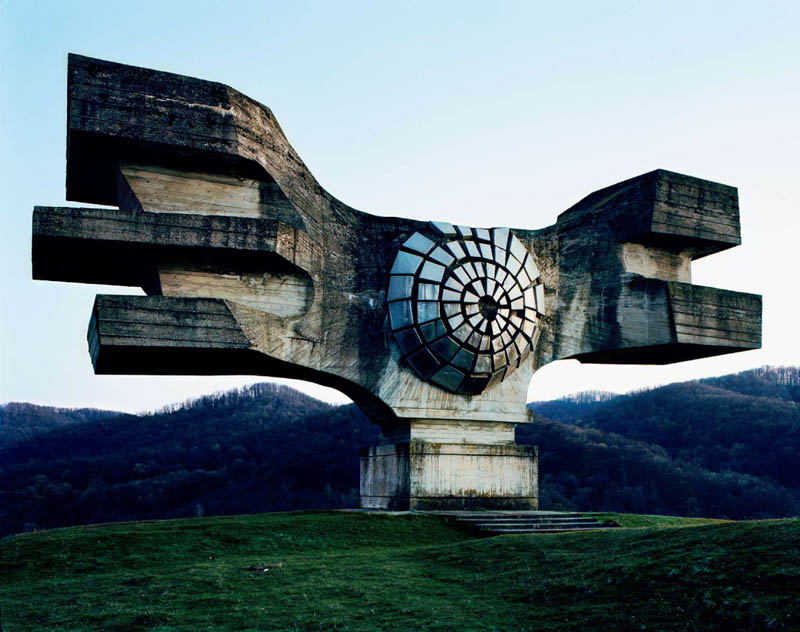 old monuments yugoslavia spomeniks jan kempenaers 1 An Abandoned House Overtaken by Animals